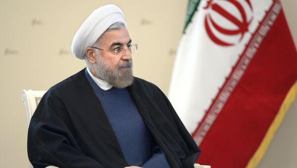 Prezident Íránu Hasan Rúhání - Sputnik Česká republika