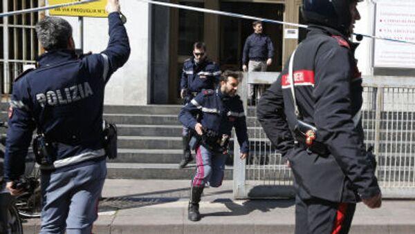 Střelba u soudu v Miláně - Sputnik Česká republika