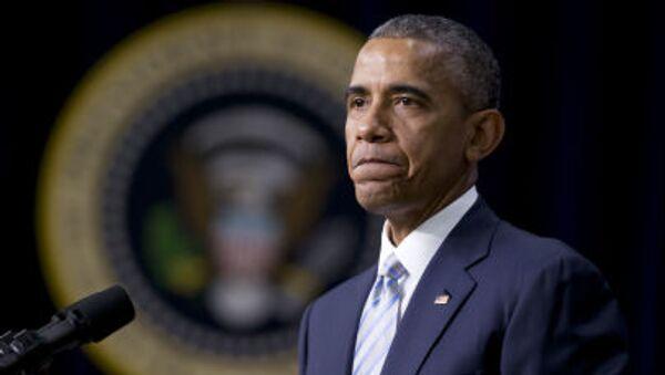 Ameický prezident Barack Obama - Sputnik Česká republika