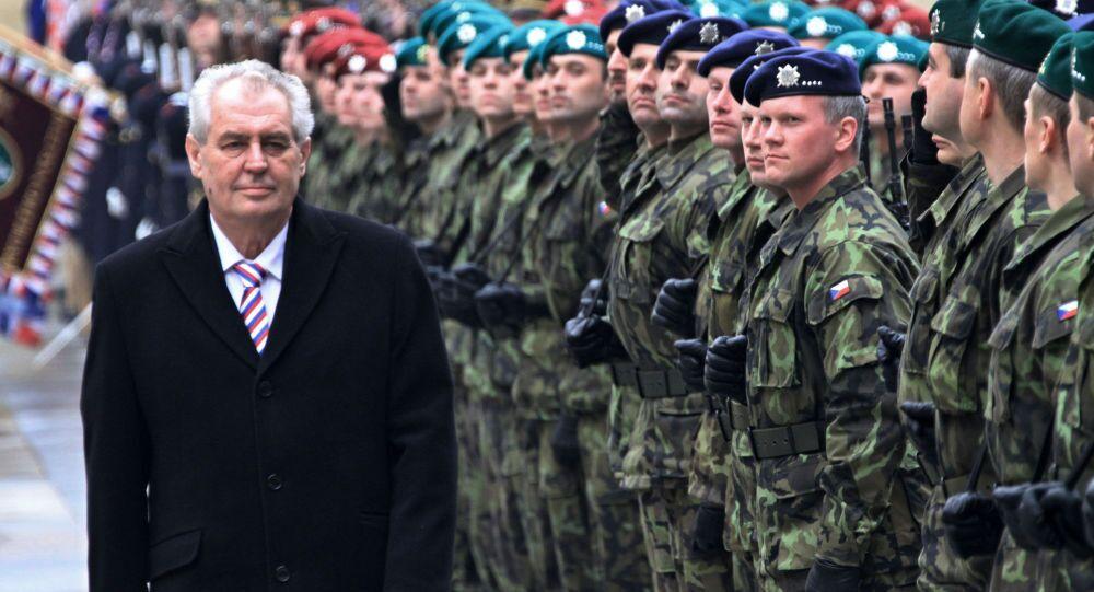 Miloš Zeman a česká armáda