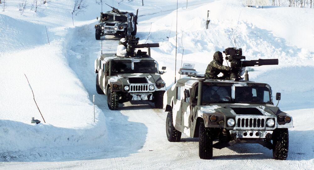 Cvičení NATO v Norsku