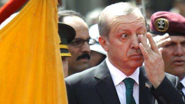 Turecký prezident Tayyip Erdogan v Ecvádoru, 4. února 2016 - Sputnik Česká republika