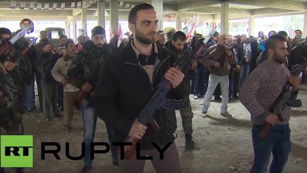 Příprava dobrovolníků v Sýrii - Sputnik Česká republika