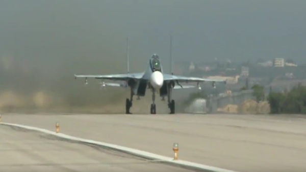 Stíhačky Su-35S nastoupily do bojové služby v Sýrii - Sputnik Česká republika