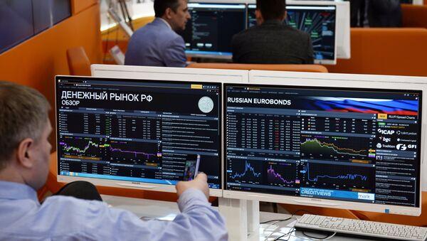 Grafy akciových indexů - Sputnik Česká republika