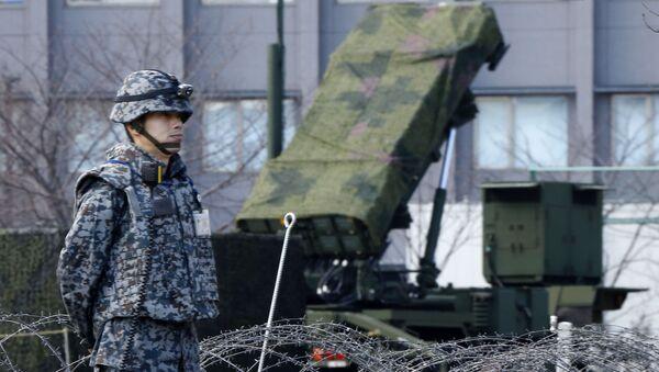 Japonsko v očekávání rakety KLDR: protiletadlové systémy v Tokiu - Sputnik Česká republika