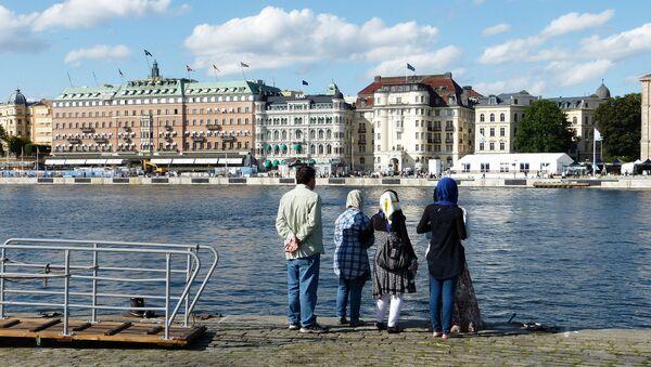 Muslimové ve Švédsku - Sputnik Česká republika