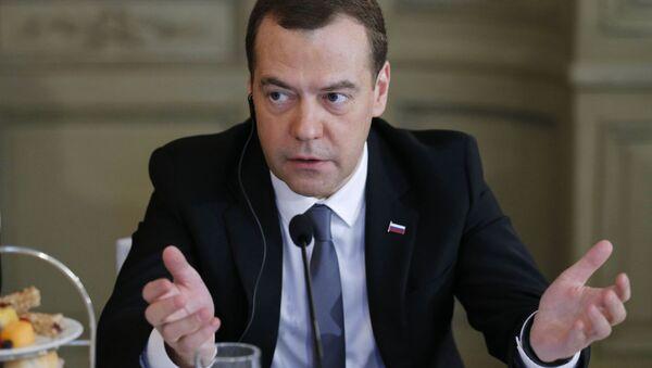 Předseda vlady RF Dmitrij Medvěděv - Sputnik Česká republika