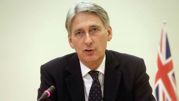 Philip Hammond - Sputnik Česká republika