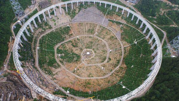 Místo stavby radioteleskopu FAST - Sputnik Česká republika