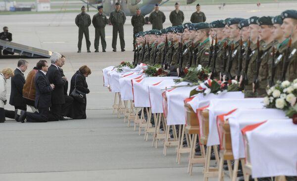 Katastrofa u Smolenska. Kronika událostí dubna roku 2010 - Sputnik Česká republika