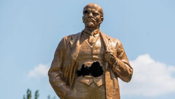 Socha Lenina v Šachtersku - Sputnik Česká republika