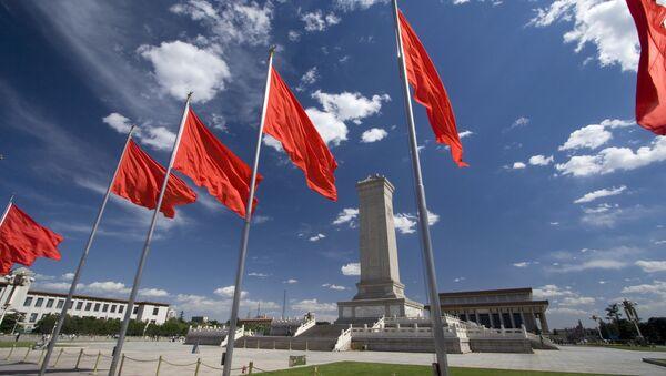 Náměstí Nebeského klidu v centru čínského Pekingu - Sputnik Česká republika