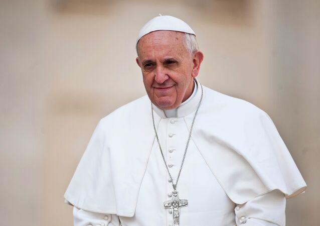 Papež František. Ilustrační foto