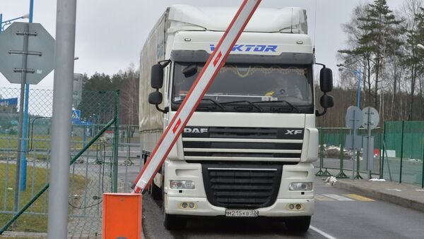 Ruský kamion - Sputnik Česká republika