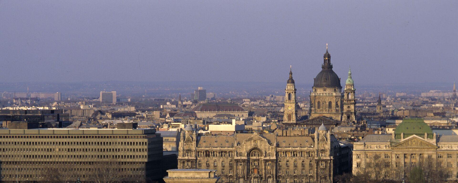 Pohled na město Budapešť - Sputnik Česká republika, 1920, 30.06.2021