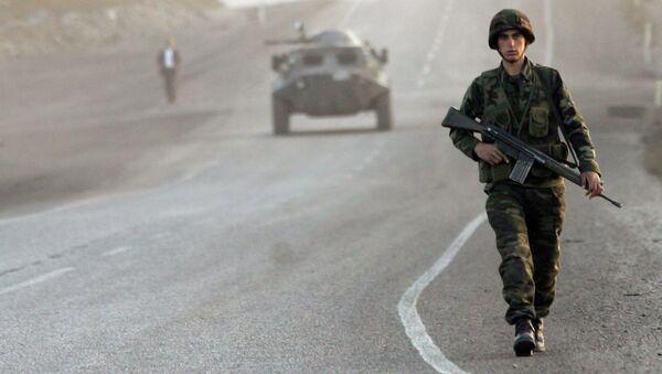 Turečtí vojáci v provincii Širnak - Sputnik Česká republika