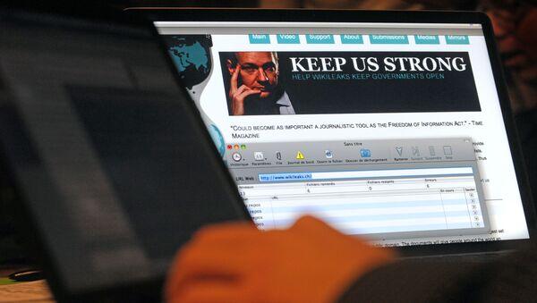 Stránka WikiLeaks - Sputnik Česká republika