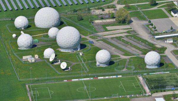 Pohled na základnu s anténami. Ilustrační foto - Sputnik Česká republika