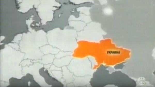Ukrajinská televize ukázala mapu země bez Krymu - Sputnik Česká republika