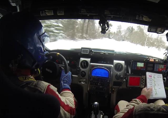 Sněhová rally-raid v Rusku, jediná ve světě