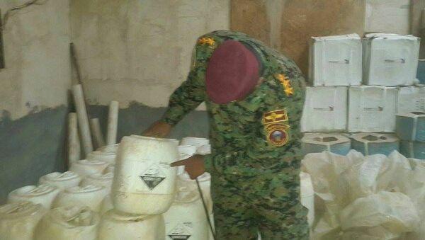 Chemické zbraně Daiš v Iráku - Sputnik Česká republika