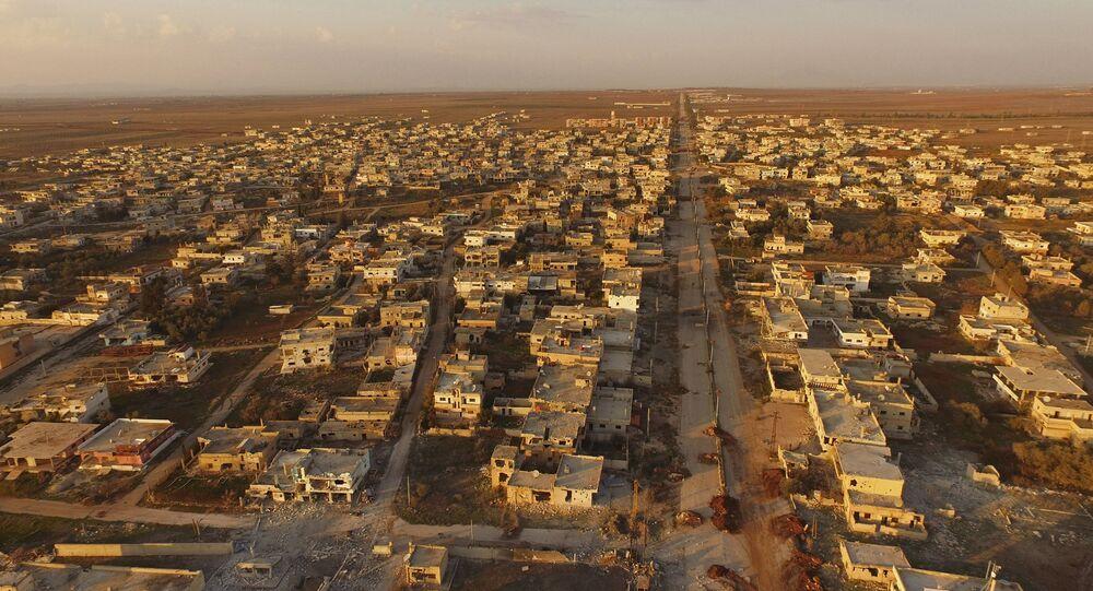 Syrské město Osman osvobozené od teroristů
