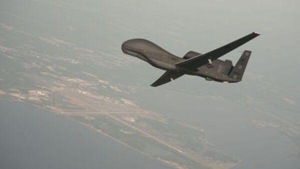 Americký dron - Sputnik Česká republika