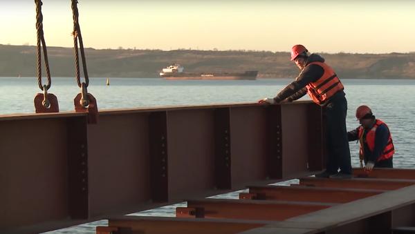 Most na Krym: očekávejte v roce 2019 - Sputnik Česká republika