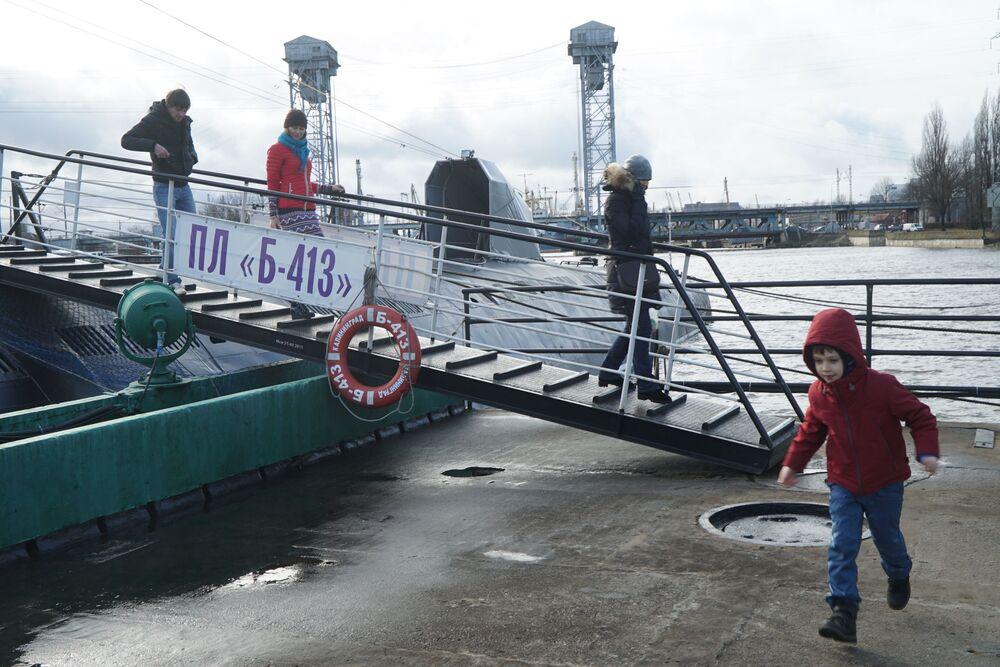 Unikátní muzejní ponorka B-413