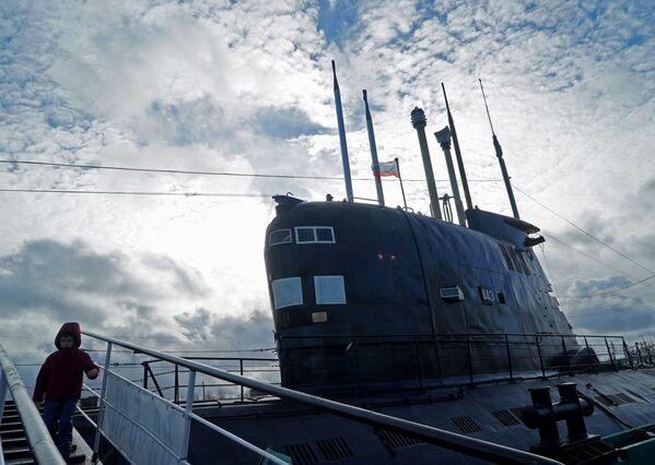 Unikátní muzejní ponorka B-413 - Sputnik Česká republika