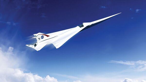 NASA hodlá obrodit nadzvukové dopravní letectvo - Sputnik Česká republika
