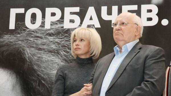 Michail Sergejevič Gorbačov s dcerou - Sputnik Česká republika