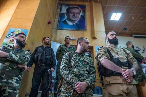 Syrské příměří: ti, kdo odmítli bojovat proti oficiálnímu Damašku - Sputnik Česká republika