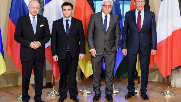 Normandská čtyřka v Berlině - Sputnik Česká republika