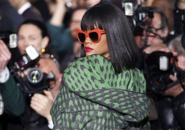 Barbadoská zpěvačka Rihanna