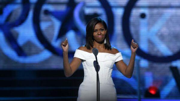 První dáma Spojených států amerických Michelle Obamová - Sputnik Česká republika