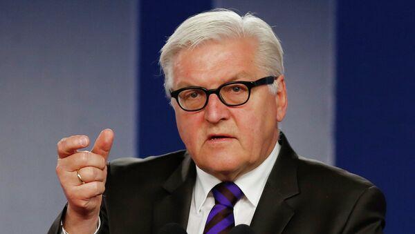 Šéf německé diplomacie Frank-Walter Steinmeier - Sputnik Česká republika