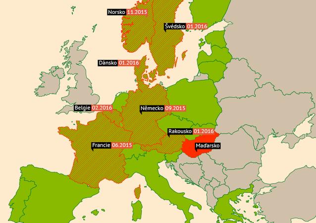 Jak se uzavírají hranice Schengenu