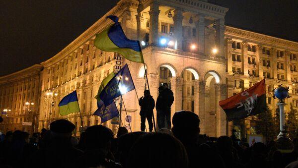 Výročí Euromajdanu v Kyjevě - Sputnik Česká republika