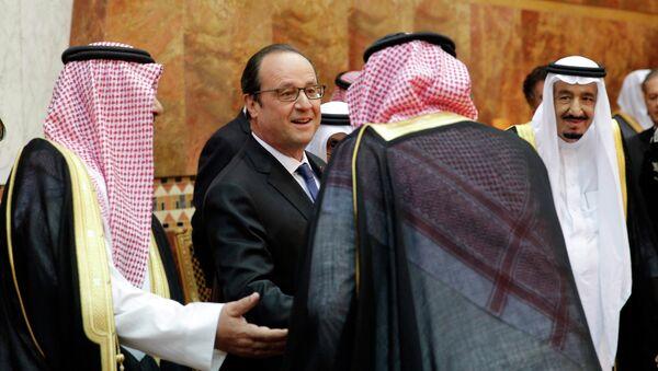 Francois Hollande v Saúdské Arabii. Archivní foto - Sputnik Česká republika