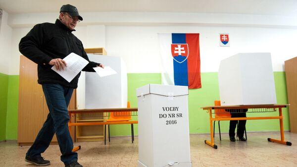 Volby ve Slovensku. 5. března 2016 - Sputnik Česká republika