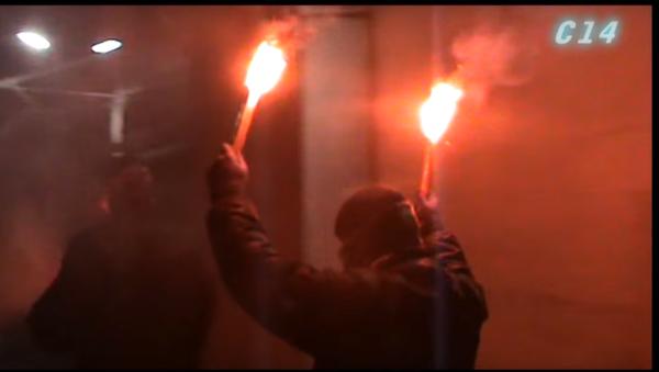 Útok na velvyslanectví RF v Kyjevě - Sputnik Česká republika