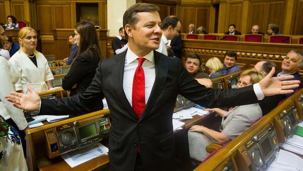 Vůdce ukrajinské Radikální strany Oleh Ljaško - Sputnik Česká republika