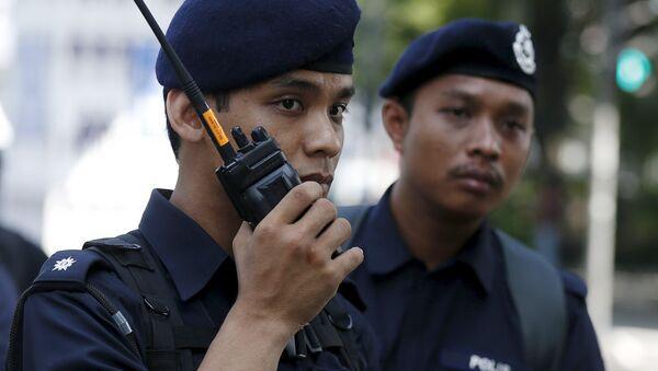 Malajsijská policie - Sputnik Česká republika
