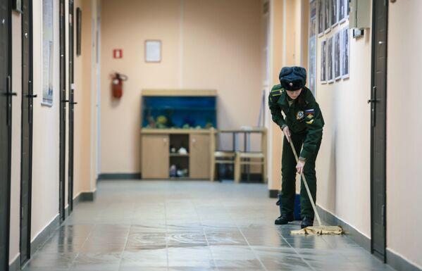 Všední dny dívek-frekventantek - Sputnik Česká republika