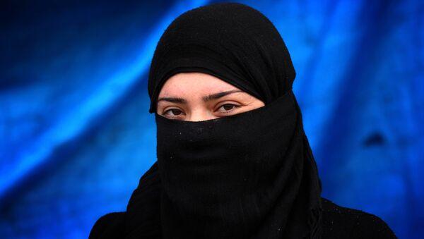 Dívka s hidžábem - Sputnik Česká republika