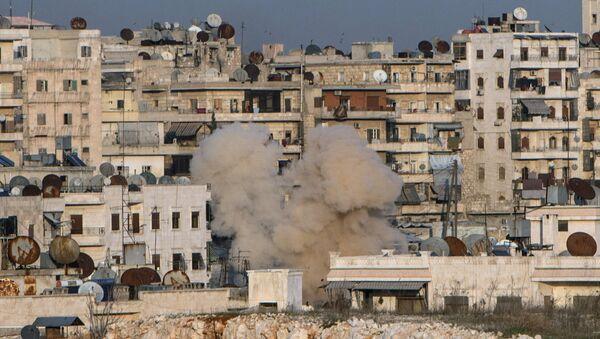 Ostřelování, Aleppo - Sputnik Česká republika