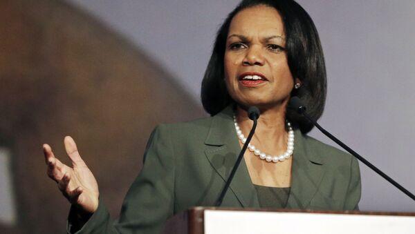 Bývalá ministryně zahraničí USA Condoleezza Riceová - Sputnik Česká republika