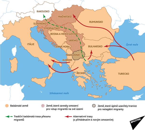 Balkánské země - Sputnik Česká republika